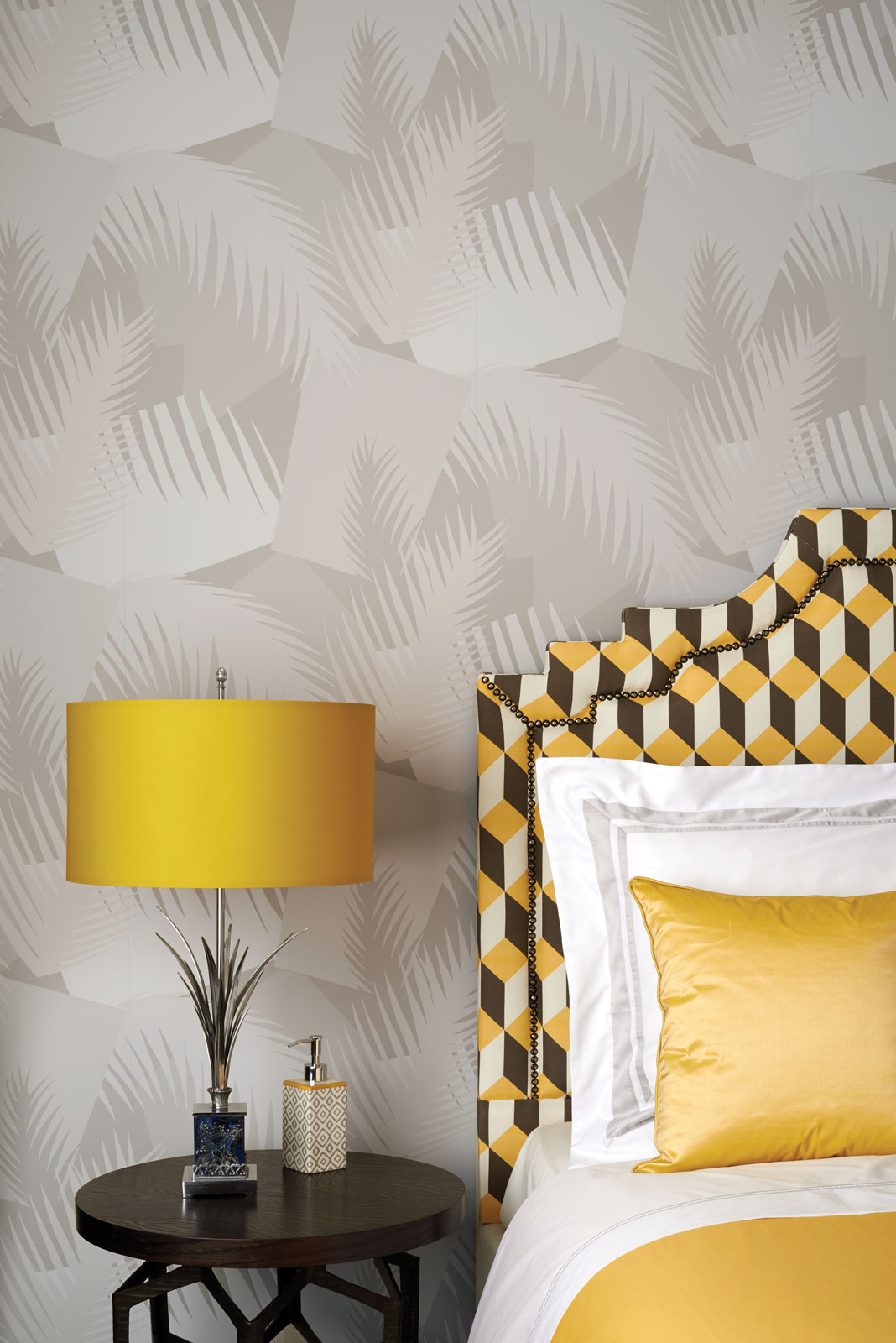 Art Deco Palm | Cole & Son Wallpapers | Distributed in NZ by Icon Textiles