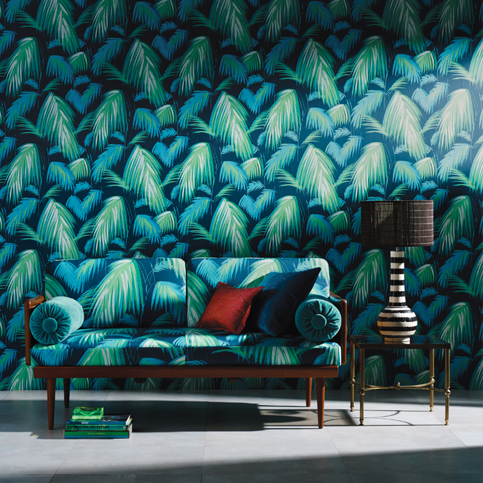 Tropicana Wallpaper by Matthew Williamson | Osborne & Little | Distributed in NZ by Seneca Textiles