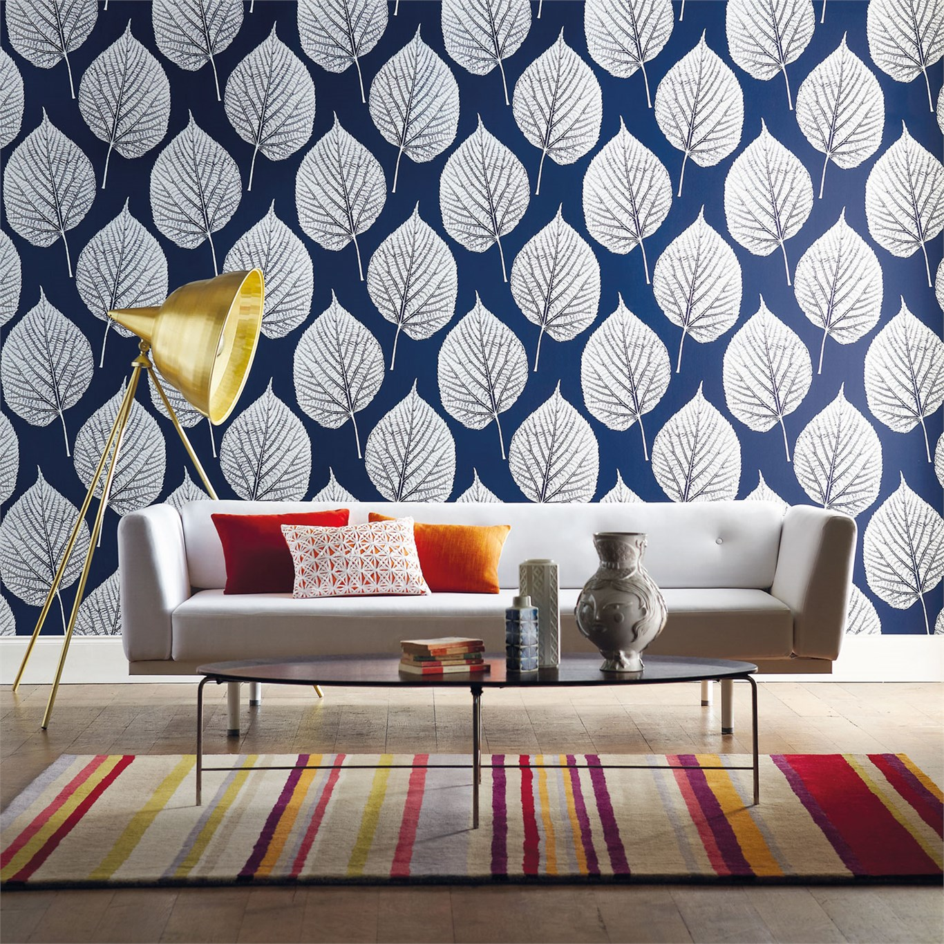 Leaf by Harlequin | Distributed in NZ by Malcolm Fabrics