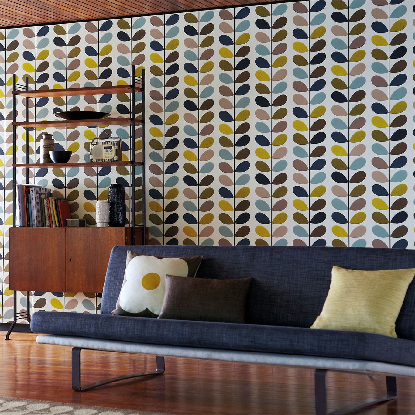 ora-kiely-multi-stem-harlequin-malcolm-fabrics Multi-Stem by Orla Kiely | Harlequin | Distributed in NZ by Malcolm Fabrics