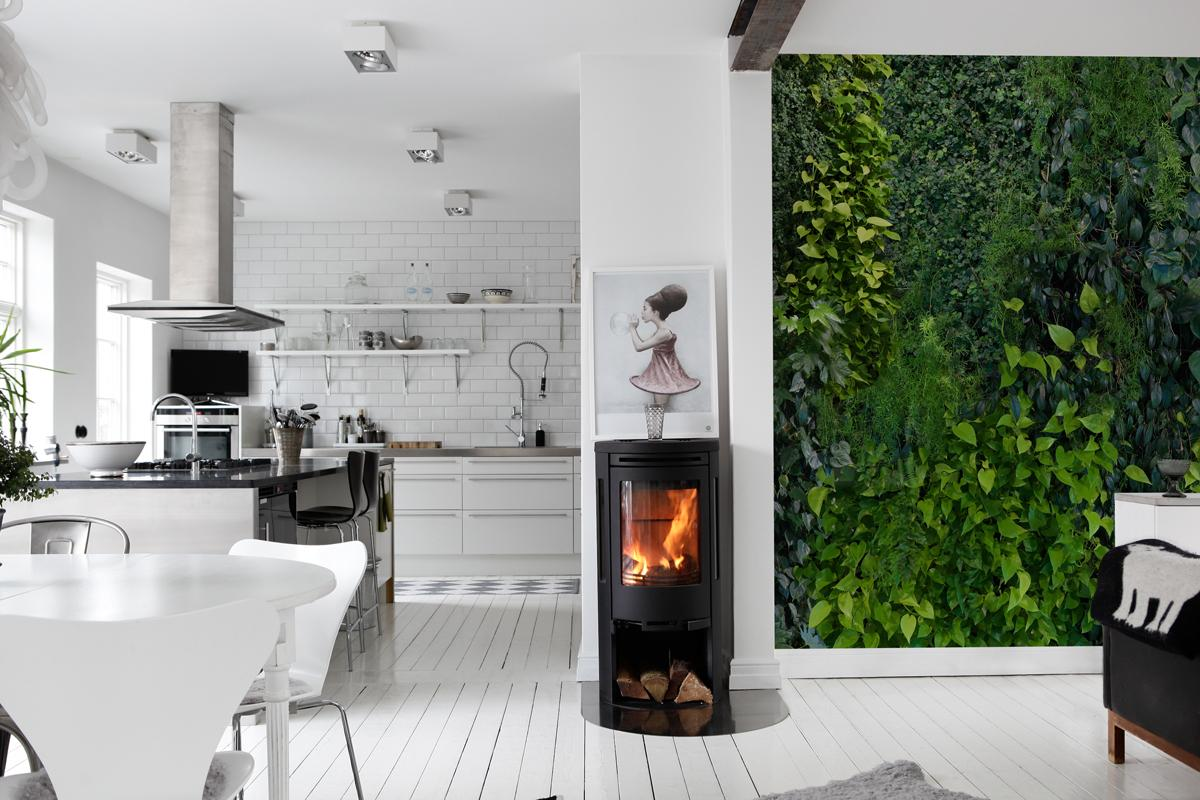 Green Wall by Mr Perswall | Distributed in NZ by Icon Textiles