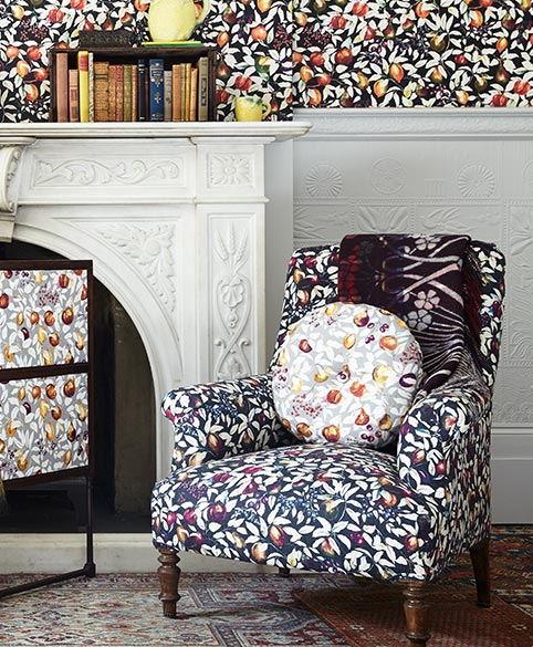 Liberty Chesham Cabinet Icon Textiles Fabrics Wallpapers England British Interior Design