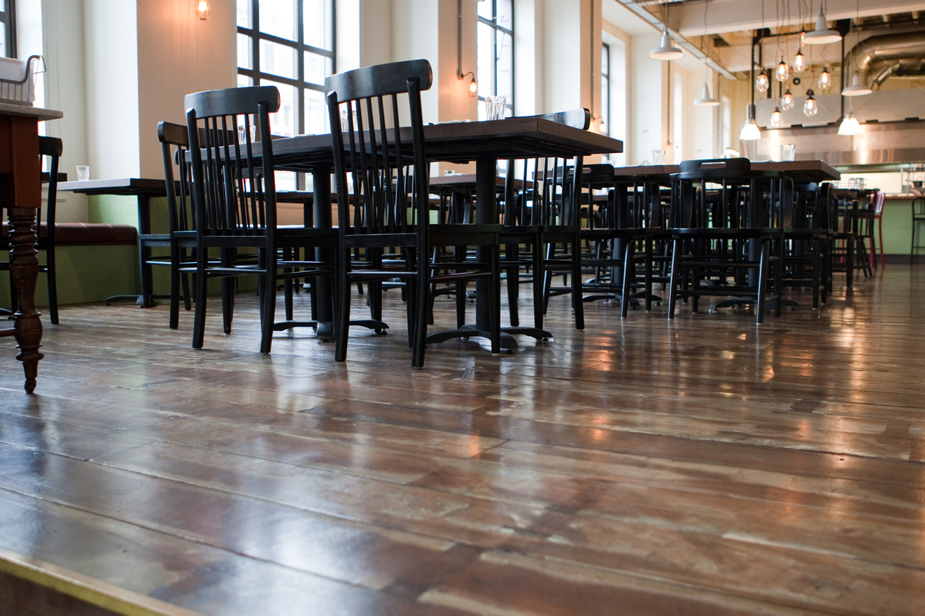 James Henry Flooring and Charley Noble Restaurant and Eatery Timber Wood and Smoke