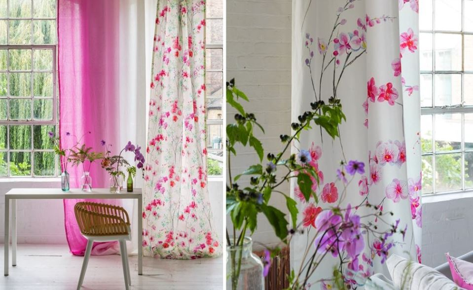 Designers Guild Couture Rose Spring Summer 2016 Fabrics and Wallpapers Interior Design