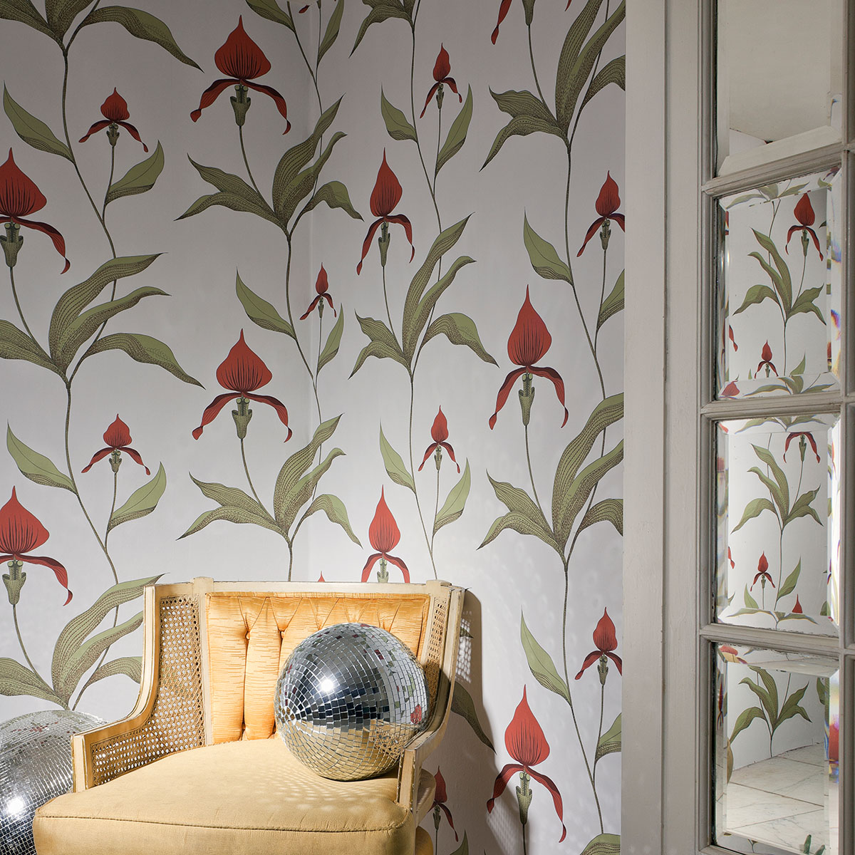Festive Inspirations Interiors and Decoration Interior Design Cole and Son Orchid