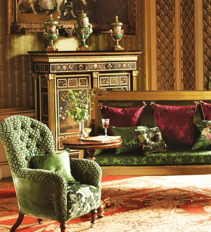 Festive Inspirations Interiors and Decoration Interior Design Royal Collection Greville