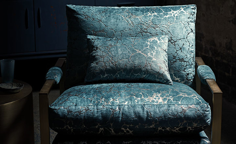 Zkara Black Edition Herbaria Weaves and Velvets Interior Design Seneca Textiles Fabrics